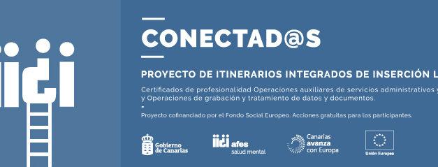 El proyecto Conectad@s ayuda a personas con problemas de salud mental grave, a encontrar un empleo.