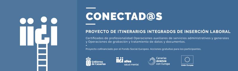 El proyecto Conectad@s ayuda a personas con problemas de salud mental a tener un empleo.