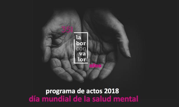 Un programa ameno y accesible para el Día Mundial de la Salud Mental
