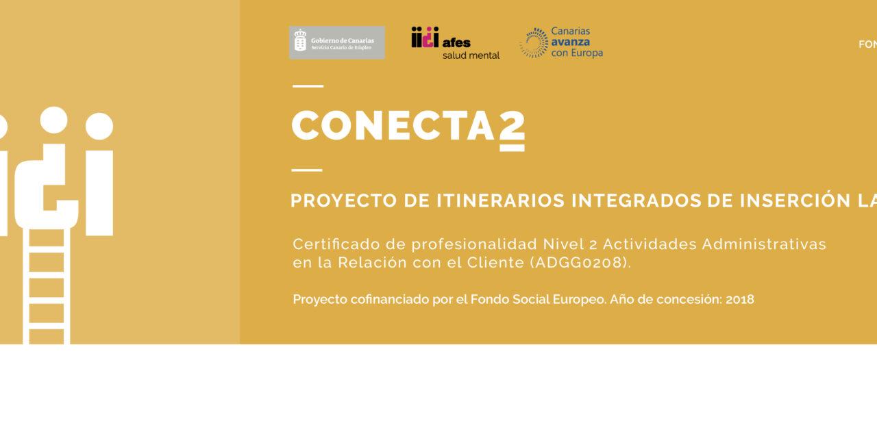 Conecta2, un proyecto de oportunidades laborales por la salud mental