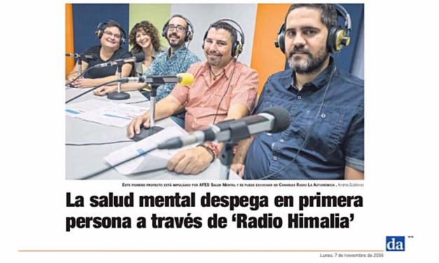 La salud mental despega en primera persona a través de `Radio Himalia'