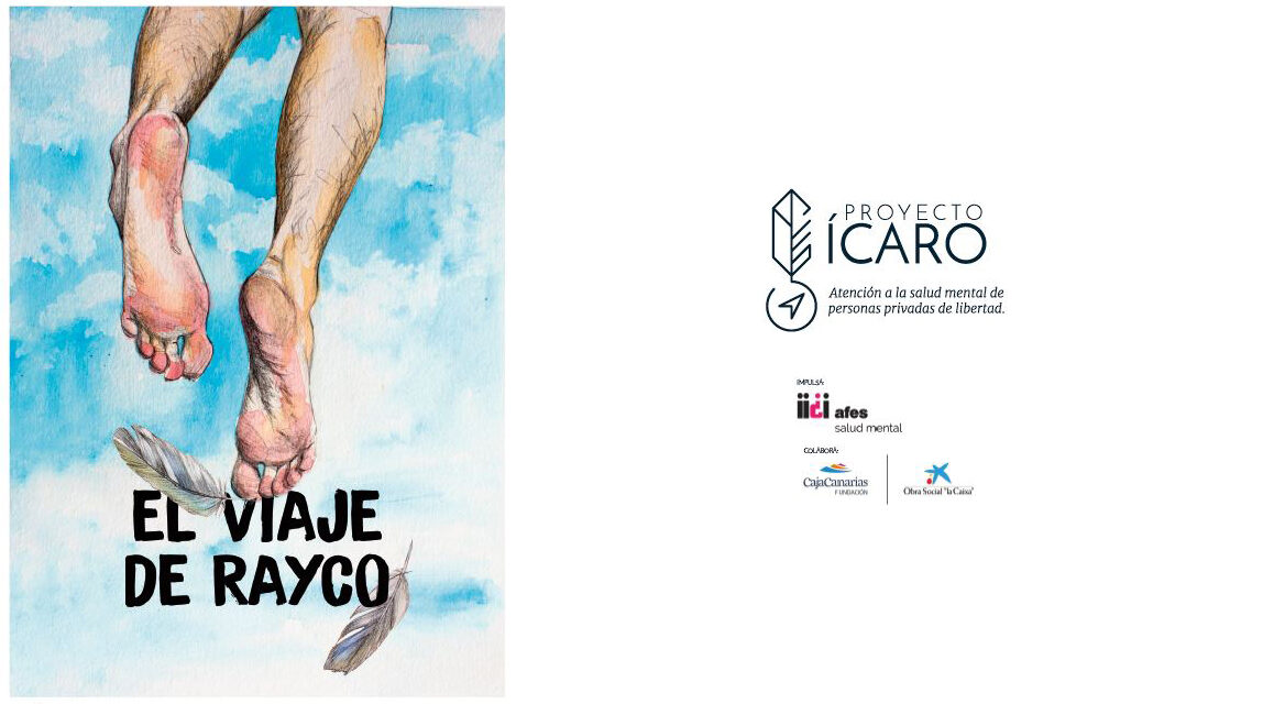 'El viaje de Rayco', un cómic sobre un joven con problemas de salud mental en prisión