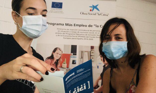 El proyecto Genus facilita la inserción laboral durante la pandemia