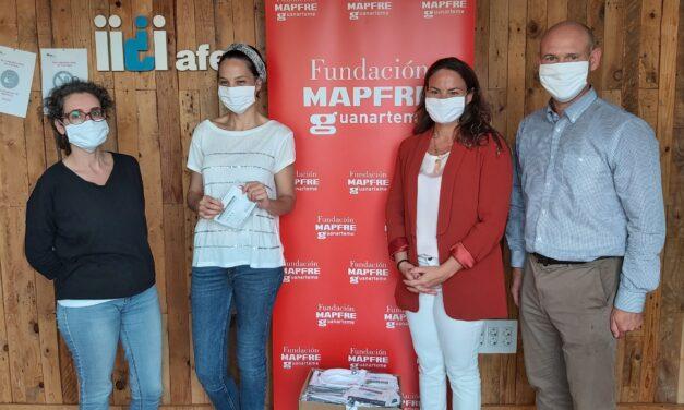 La Fundación MAPFRE Guanarteme dona 250 mascarillas reutilizables a AFES Salud Mental